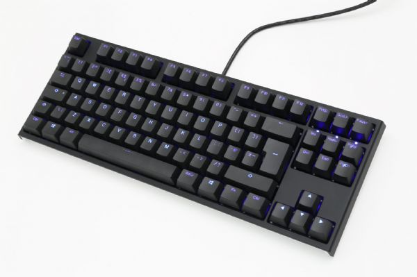 Ducky One2 TKL Blue Backlit Brown Cherry MX Switch